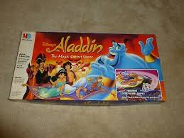 disney aladdin magic carpet board game