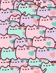 pusheen cat desktop wallpaper on