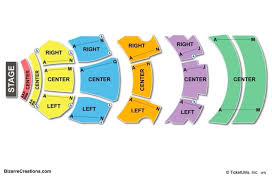 dolby theatre seating chart seating