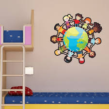Style And Apply Kids Globe Wall Decal Wayfair