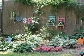 old chair garden fence decor 20 fence