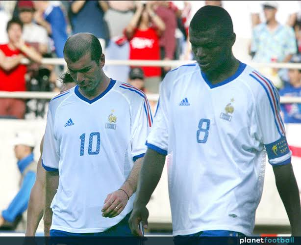Image result for France 2002 World Cup""