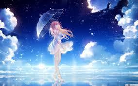 beautiful anime in the night hd
