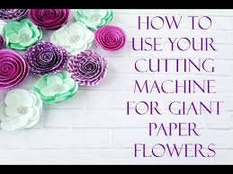 how to upload giant paper flower svgs