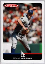 Amazon.com: 2019 Topps Total (Wave 9) Baseball #813 Adam Kolarek Los  Angeles Dodgers Official MLB Trading Card ONLINE EXCLUSIVE Limited Print  Run: Collectibles & Fine Art