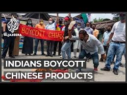 India-China tensions: Calls for boycott of Chinese products - YouTube