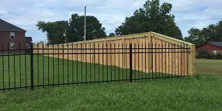 Mixing Wood And Ornamental Fencing Styles Ivy Fence Company