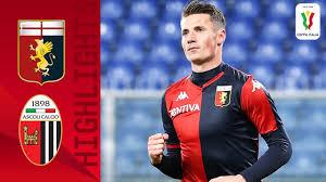 Genoa 3-2 Ascoli | Pinamonti hits a Brace as Genoa Edge 5-Goal ...