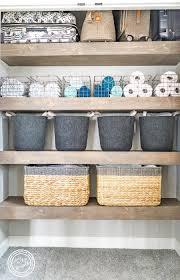 linen closet organization goals
