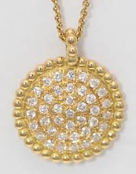 18k yellow gold round diamond setting