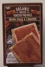 organic frosted brown sugar cinnamon