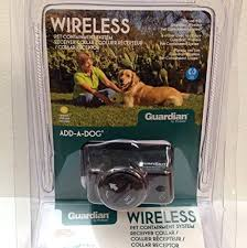 Guardian Petsafe Deluxe Wireless Waterproof Pet Containment System Receiver Collar 3 Levels Model Gif 275 11 W 6v Battery You Can Ge Model Gif Dog Pens Pets