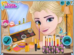 free games cal elsa makeup saubhaya