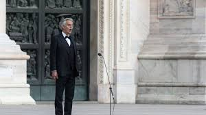 Andrea Bocelli performs 'Amazing Grace ...