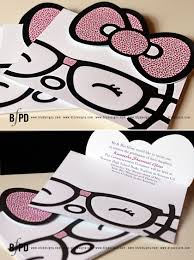 Graduation Inivtations Hello Kitty Invitations Invitations
