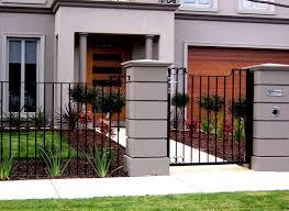 Custom Brick Fences Cercas De Casas Disenos De Verjas Fachadas De Casas Modernas