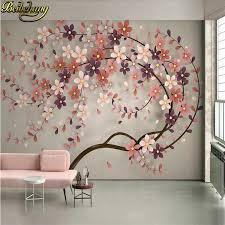 tree flower murals wallpaper 3d tv