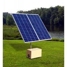 build a solar pond aerator