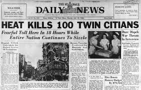 1936 heat wave killed in 51 in St. Paul ...