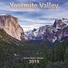 yosemite valley wall calendar calendars