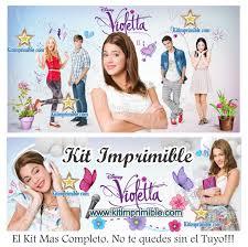 Kit Imprimible Violettacurso Virtual