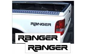 Graphic Express Ford Ranger Bed Name Ranger Decal Set No Stripe
