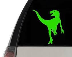 Velociraptor Decal Etsy
