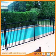China Aluminum Fence Black Flat Top Pool Fence Panel China Garden Fence Fence