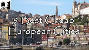 cities in europe to visit on a budget