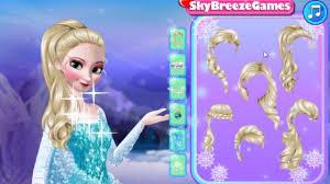 frozen dressup and makeup games mafa