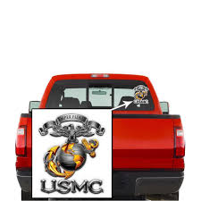 Usmc United States Marine Corps Semper Fidelis Decal Sticker Casaba Shop