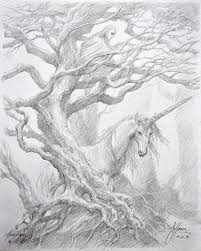 Drawing Collaboration Between Alan Lee And John Howe Created On