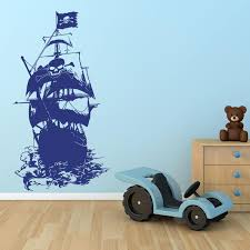 Henry Morgan Pirate Ship Wall Decal Style And Apply
