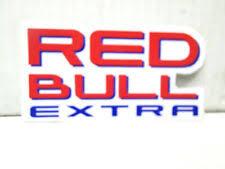 2x Red Bull Logo Vinyl Sponsor Decal Sticker Pro Athlete Team Energy Drink Bmx For Sale Online Ebay