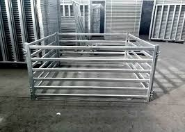 Sturdy Steel Cattle Fence Horse Corral Panels For Horse Cow Sheep