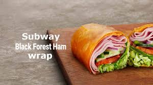 black forest ham wrap nutrition facts