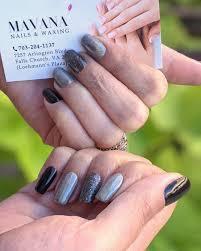 mavana nails waxing