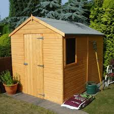 durham t g flat pack shed 8ft x 6ft