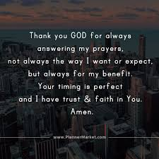 beautiful quotes thank you god for always answering my prayers