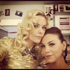 Hart of Dixie's Jaime King and Kaitlyn Black got glam, Bluebell ...