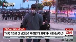 Black CNN reporter arrested live on TV ...
