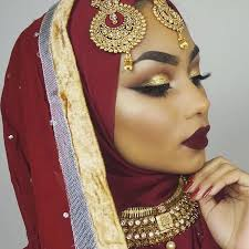 sabina hannan indian bridal makeup look