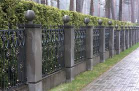 189 Iron Fence Stone Pillars Photos Free Royalty Free Stock Photos From Dreamstime