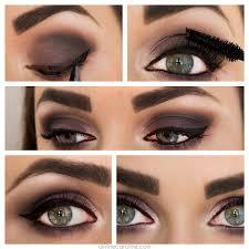 cute makeup tutorials for hazel eyes