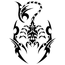 Celtic Scorpion Vinyl Decal Sticker Scorpion Tattoo Tribal Tattoos Body Art Tattoos