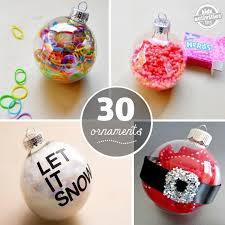 30 ways to fill ornaments