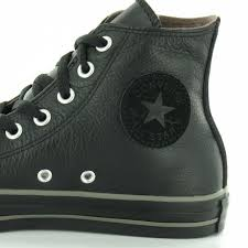 mens leather hi top basketball boots