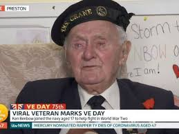 WW2 veteran leaves Good Morning Britain ...