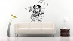 Art Maui Sticker Moana Wall Vinyl Decal Home Decor Applique Kid Room Boys Girls Bedroom Graphic Moana2 Amazon Com