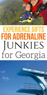 adrenaline junkie experience gifts in